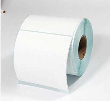 Direct Thermal Blank Label Rolls 100x100mm (6 Rolls Per Box)