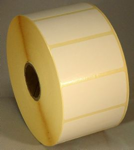 Direct Thermal Blank Label Rolls 50x25mm (12 Rolls Per Box)