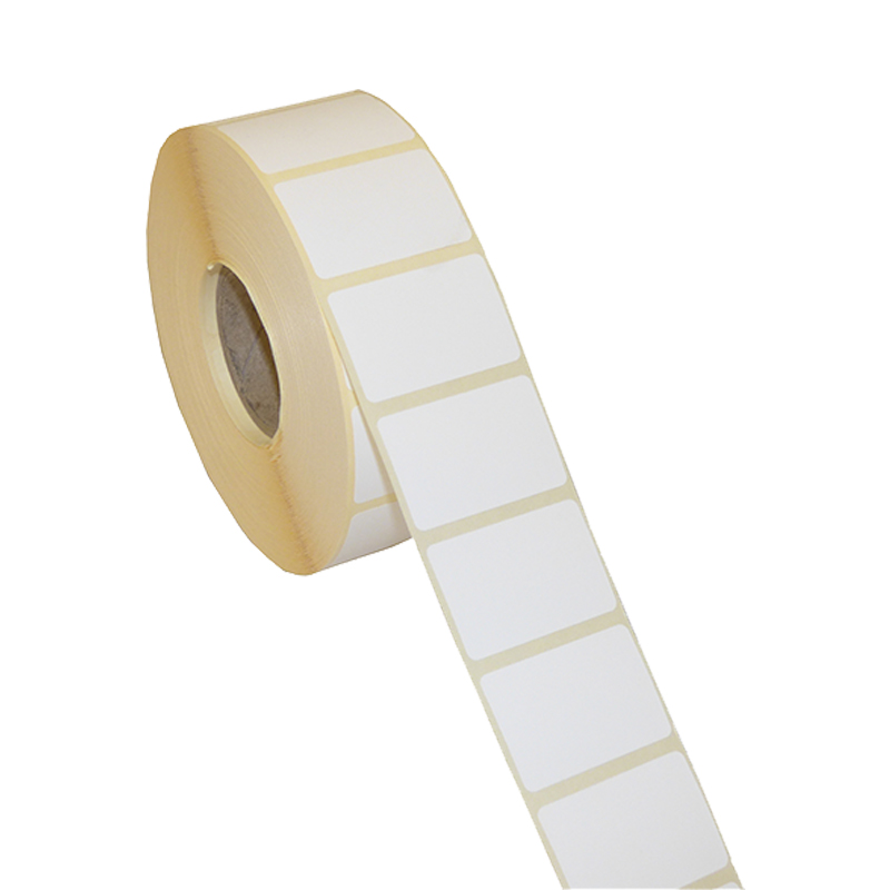 Direct Thermal Blank Label Rolls 38x25mm (4 Rolls Per Box)
