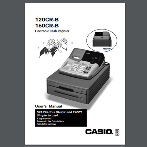 Casio 120cr-b and 160cr-b user manual pdf the checkout tech store.