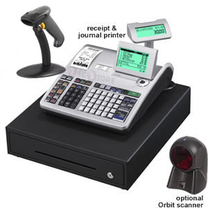 SE-S3000 Cash Register with Barcode Scanner