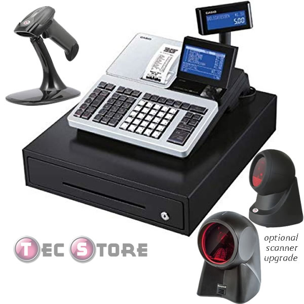SR-S500 Cash Register with Barcode Scanner