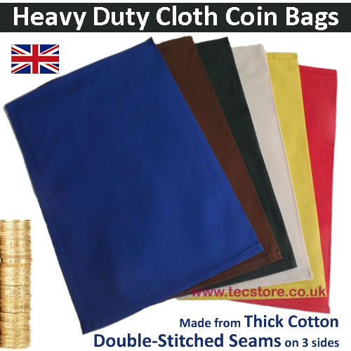 Cloth Coin Bags (Pack)