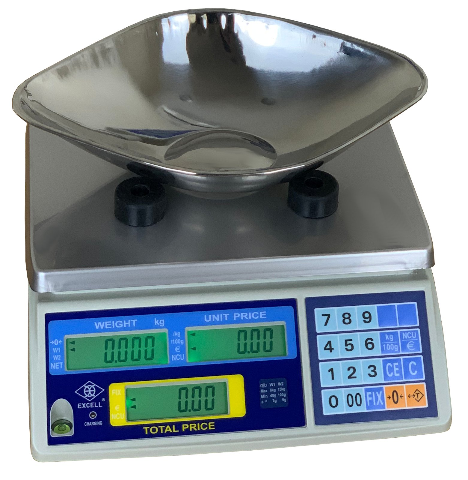 FD3 Retail Scale with Scoop