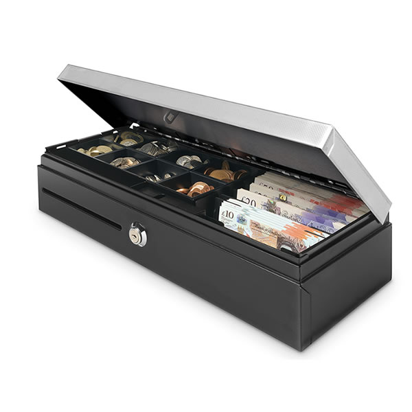 Flip Top Heavy-Duty Cash Drawer