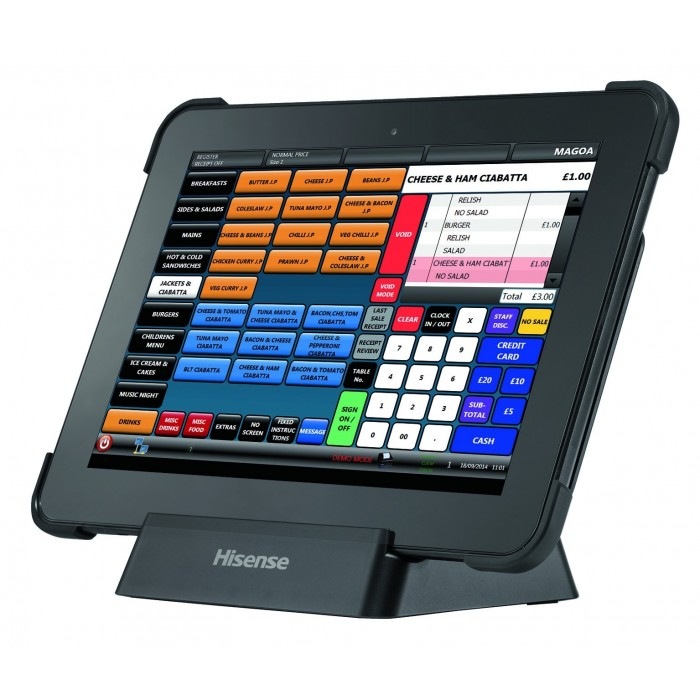 "HM618 RUGGED 10"" TABLET POS SYSTEM"