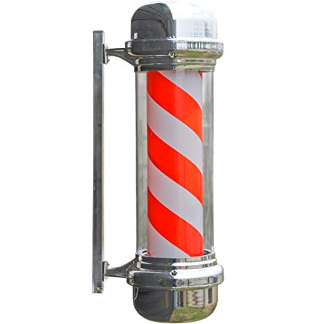 Barbers LED Revolving Pole Sign