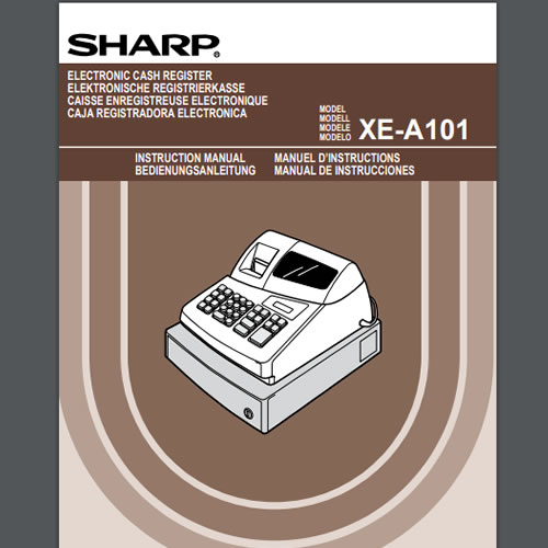 sharp xe a101 operation manual tecstore uk rh tecstore co uk Sharp XE -A102 Cash Register Sharp XE A101 Cash Register Model