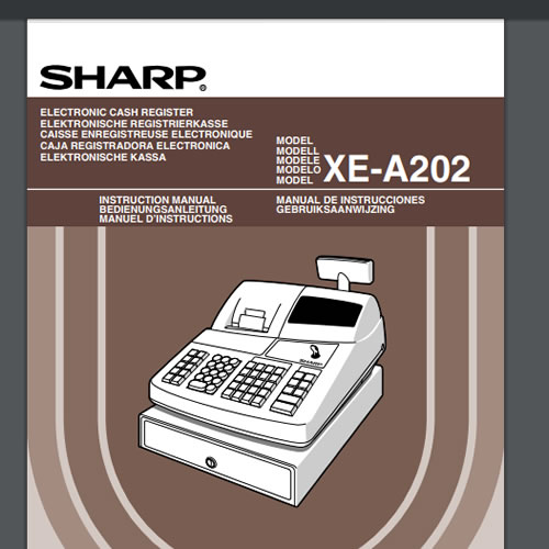 XE-A202 Operation Manual