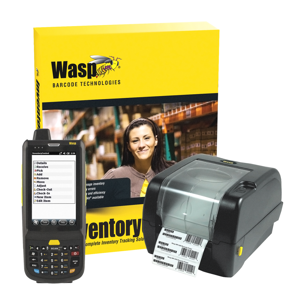 Wasp Inventory Control with DT90 Mobile Scanner