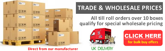 Till Rolls Manufacturer - Trade & Wholesale Prices