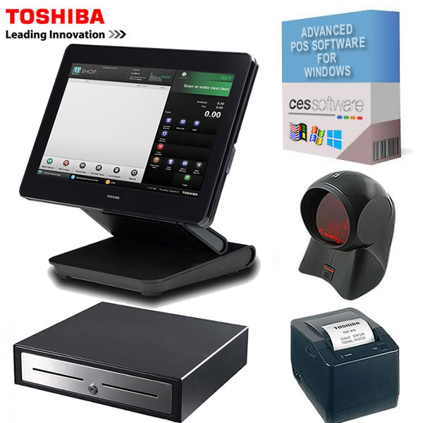 TCx800 Retail POS Package