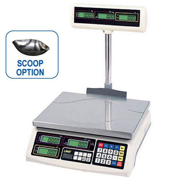 ASEP-P Retail Weighing Scale  with Pole Display